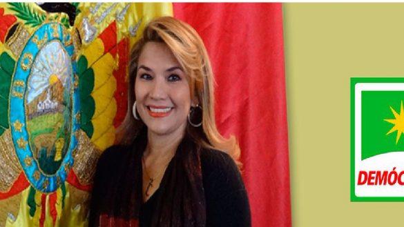 Jeanine Áñez presidenta Bolivia