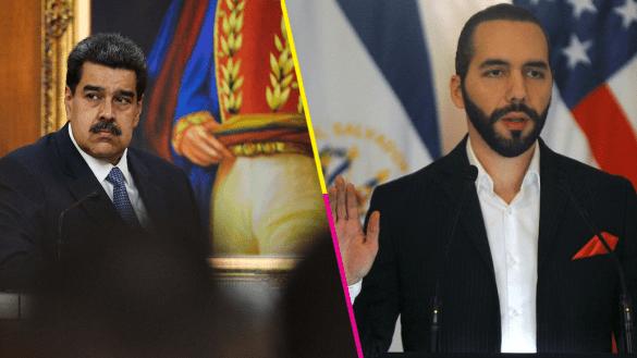 Nicolás-Maduro-Nayib-Bukele-Venezuela