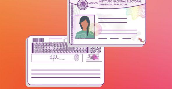 nueva credencial para votar con código qr