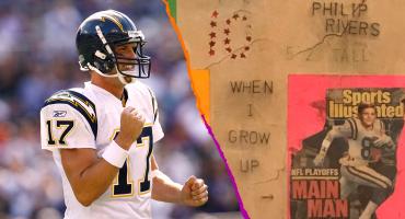 Philip Rivers: El 'veterano' que soñaba con la NFL desde los 10 años