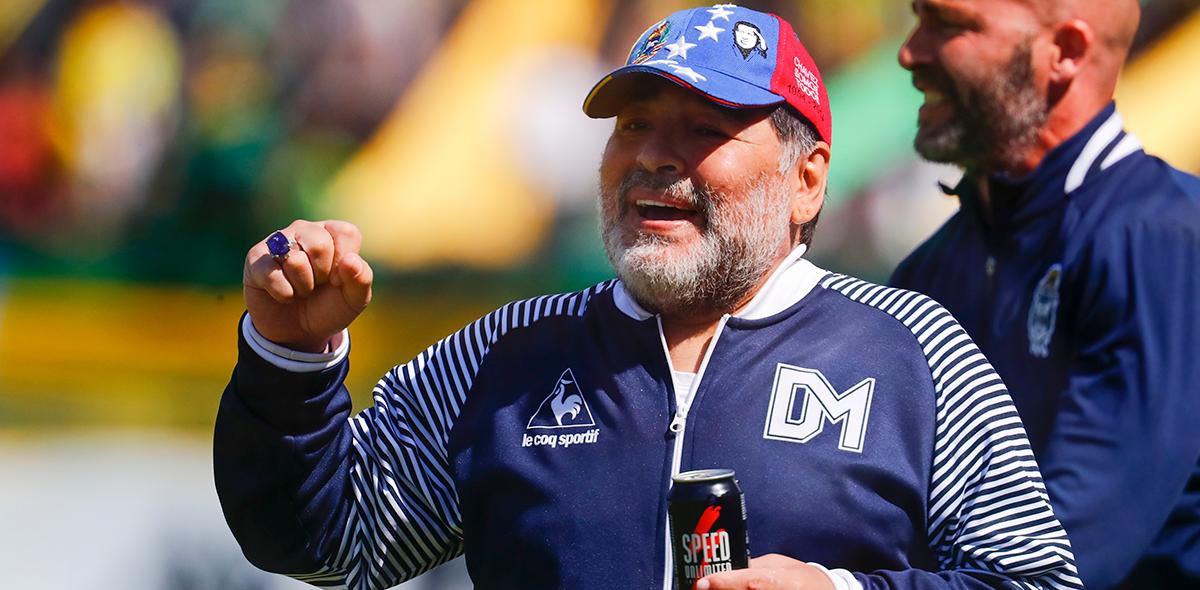 """Maradona saldría de Gimnasia y Esgrima por """"lealtad"""""""