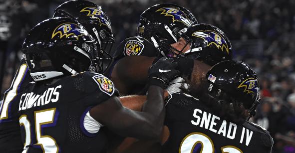 El show de Lamar Jackson: Ravens terminan con el invicto de los Patriots