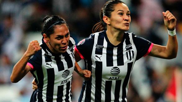 Rayadas despacha al América y arma otra final regia en la Liga MX Femenil