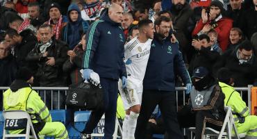 ¿Llegará al Clásico? Real Madrid dio el parte médico de Eden Hazard