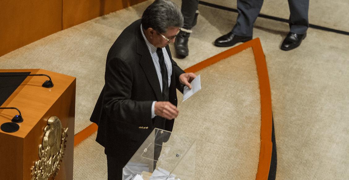 Dice Monreal que el PAN no debe hacer 'desmadre' y aceptar que perdió por la buena elecciones de CNDH