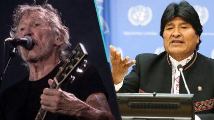 Roger Waters envía mensaje de apoyo a Evo Morales tras su salida de Bolivia