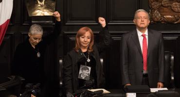 Piden a Rosario Piedra no rendir protesta como titular de CNDH hasta que haya claridad en proceso