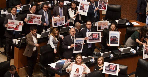 Renuncia consejero de la CDNH; oposición impugnará elección de Rosario Piedra