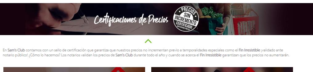 Sams Club Buen Fin Club del Fin Irresistible 01