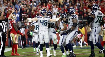 Se acabó: Seahawks acaban con el invicto de los 49ers