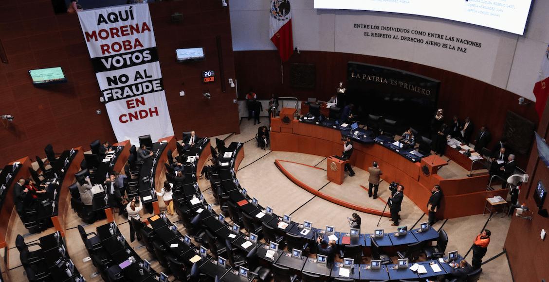 ¡Va de nuez! Monreal ofrece nueva votación para elegir a titular de la CNDH