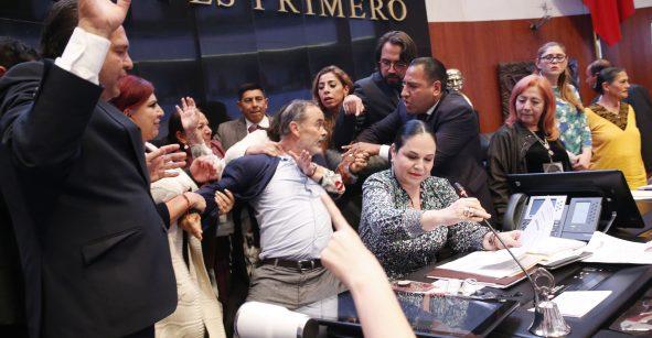 Rosario Piedra rindió protesta como nueva titular de la CDNH a la