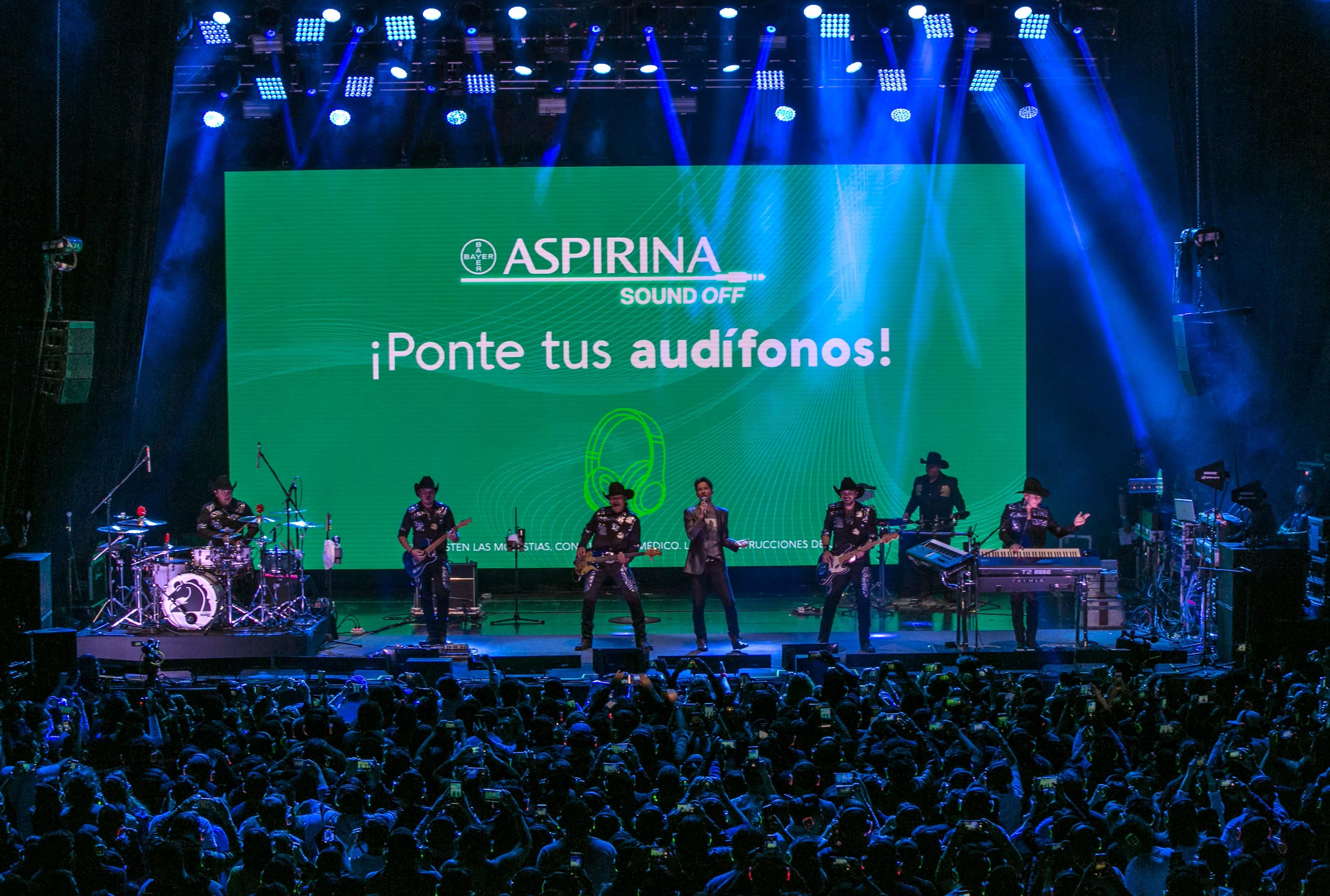 Silent Concert Aspirina Sound Off 5