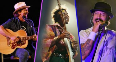 ¡Eddie Vedder y los Red Hot Chilli Peppers se rifaron un gran cover de Hendrix y Prince!