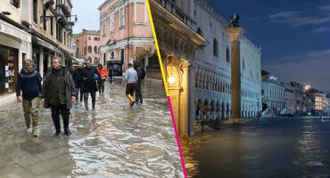 Museos y palacios se inundan en Venecia por la marea alta; la peor desde 1966