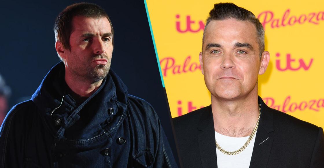 ¿Habrá tiro, Carlitos? Robbie Williams revive los problemas con Liam Gallagher