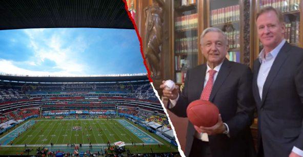 ¡Tremendo! Reportan acuerdo para mantener la NFL en México hasta 2023