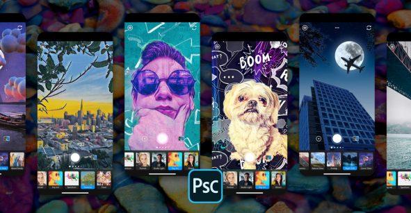 Photoshop Camera e Illustrator para iPad: Estos son los lanzamientos de Adobe para el 2020