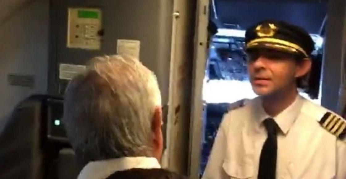 Aeroméxico confirma que NO despidió al piloto que le reclamó a AMLO