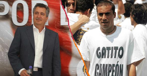 Ailton Da Silva recuerda la apuesta que Jorge Vergara no le pagó