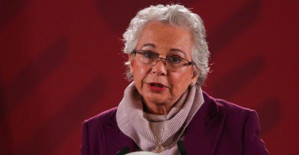 Denuncia Sánchez Cordero que incluso en el gabinete hay temas de misoginia
