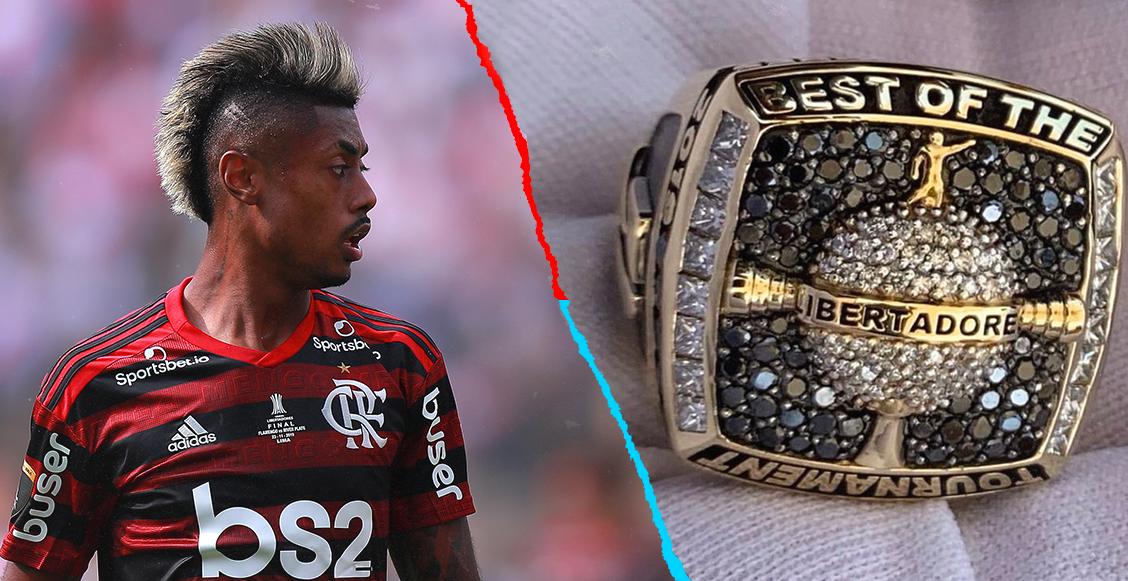 El anillo de 20 millones de dólares que ganó Bruno Enrique en la Copa Libertadores