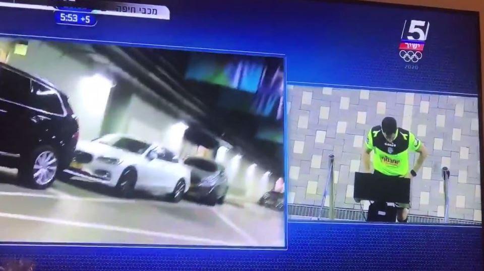 El insólito video que se filtró en medio del VAR en Israel