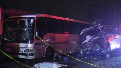 Ya arrestaron al conductor que causó el accidente de la México-Pachuca