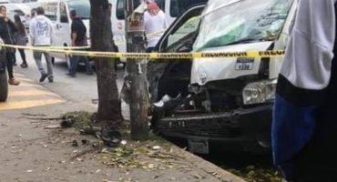 Por no seguir sus órdenes, asaltantes matan a chófer de combi en Tultitlán