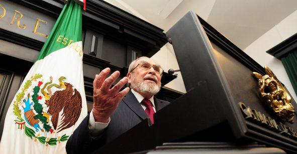 Bernardo Bátiz es designado por AMLO como miembro del CJF
