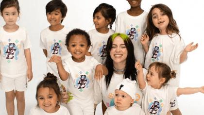 ¿bad kid? Billie Eilish lanza una línea de ropa exclusiva para niños