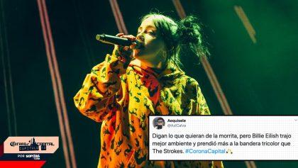 Así reaccionó Twitter ante el concierto de Billlie Eilish en el Corona Capital 2019