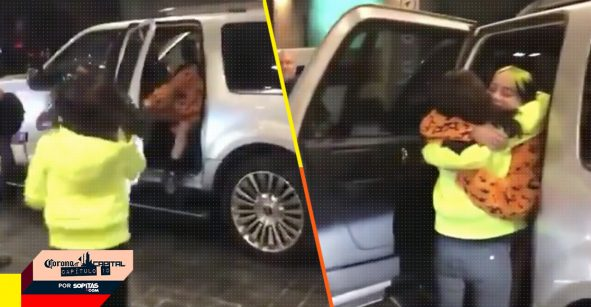Lección de humildad nivel: Billie Eilish detiene su camioneta para saludar a una fan mexicana después del CC19
