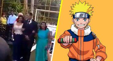 ¿Mensaje subliminal? Novio llega al altar el día de su boda con canción sad de 'Naruto'