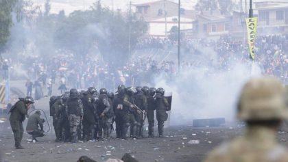 Violencia y represión... ahora en Bolivia: Al menos 5 muertos durante las protestas