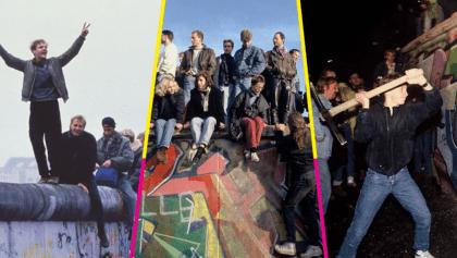 A 30 años del suceso: 10 imágenes icónicas de la caída del Muro de Berlín