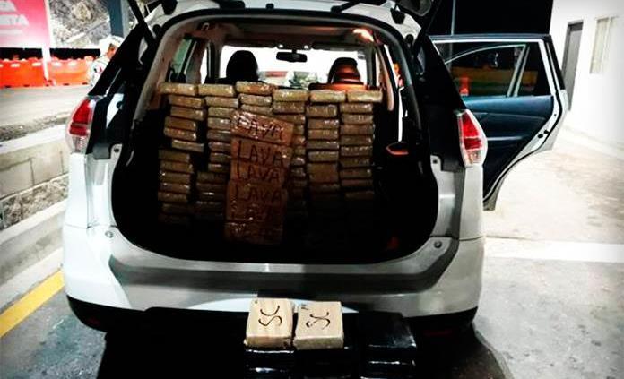 Teniente del Ejército es detenido en posesión de 88 paquetes de cocaína