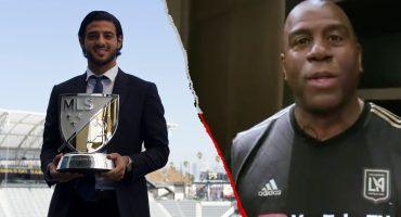 Kobe Bryant, Magic Johnson y otras estrellas que felicitaron a Carlos Vela por ser MVP de la MLS