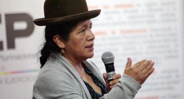 Detienen a María Eugenia Choque, presidenta del Tribunal Superior Electoral en Bolivia