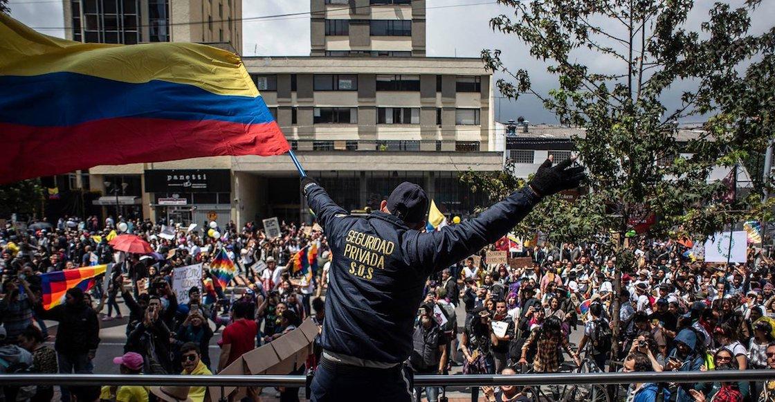 Ahora en Colombia: Tensión y manifestaciones contra gobierno de Duque