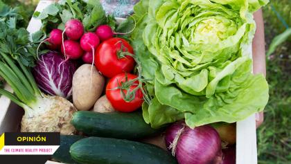 Lo que comes vale mucho para combatir al cambio climático