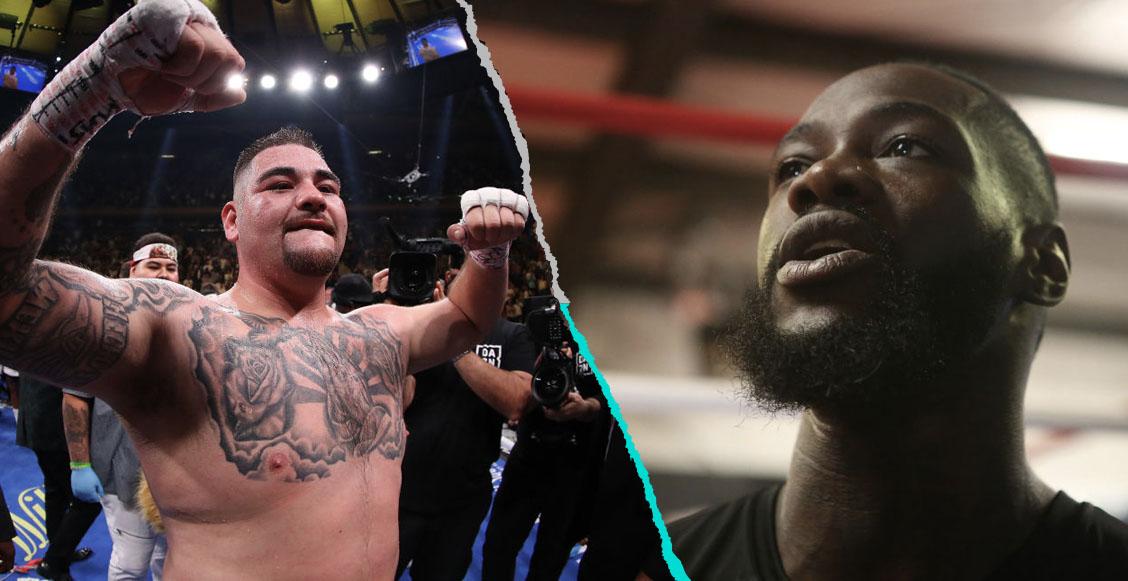 Deontay Wilder mandó mensaje de apoyo a Andy Ruíz para que 'acabe con Joshua'