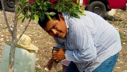 Después de un mes desaparecido, hallan el cuerpo del activista Arnulfo Cerón en una fosa de Guerrero
