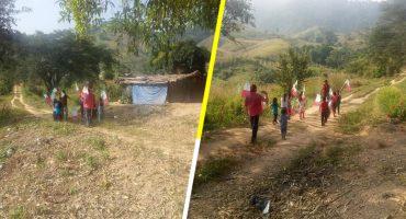 Conmovedor nivel: Maestro en Chiapas se viraliza por su humilde desfile del 20 de noviembre