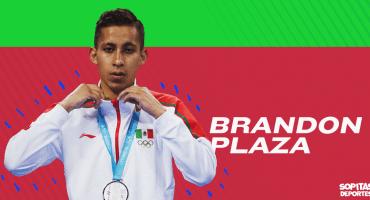 Brandon Plaza, de llorar en los entrenamientos de Taekwondo a la nominación al PND