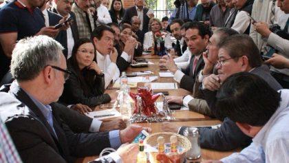 Alcaldes y diputados acuerdan no aplicar recorte a subsidio para Seguridad