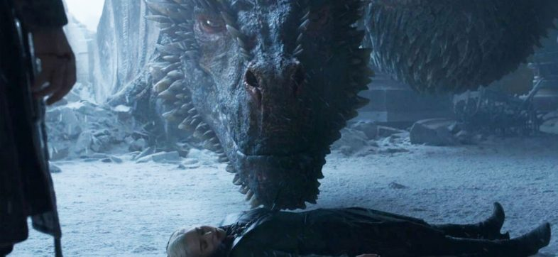 Showrunners de 'Game of Thrones' revelan qué hizo Drogon con el cuerpo de Daenerys