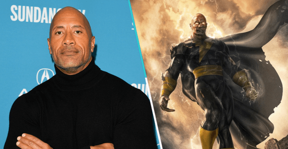 Dwayne Johnson interpretará al antihéroe Black Adam para DC