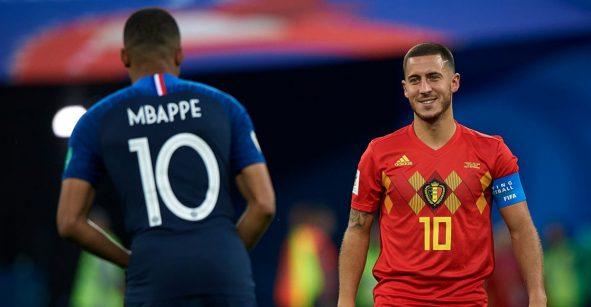 Eden Hazard se comprometió a convencer a Mbappé de que fiche con el Real Madrid