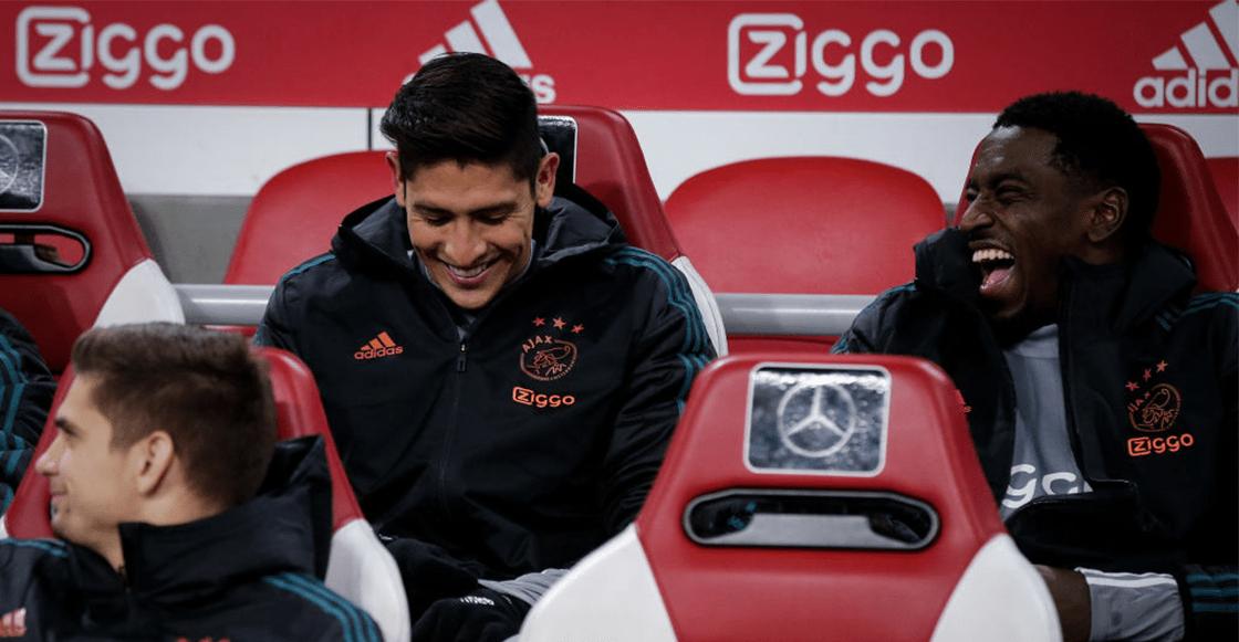 Edson Álvarez acepta que le falta nivel con el Ajax